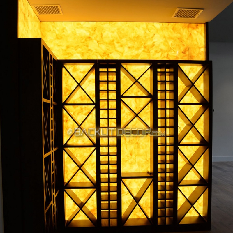 Wine Cellar Lighting Feature