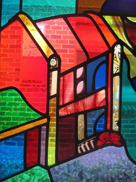 stained glass 201a